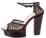 Nina Ricci Platform Ankle Strap Sandals