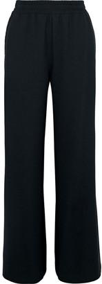 See by Chloe Lattice-trimmed Crepe Wide-leg Pants