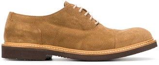 Eleventy Lace-Up Suede Shoes