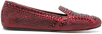 Le Silla Dixie crystal-embellished slippers