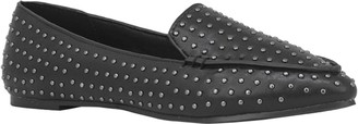 Chase & Chloe Ibi Studded Pointed Toe Loafer