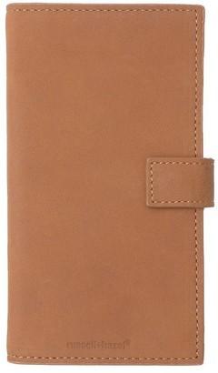 Russell + Hazel Leather Phone Case+Wallet Camel