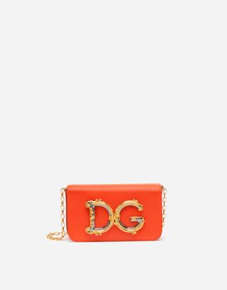 Dolce & Gabbana Calfskin Girls Clutch