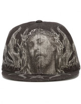 Givenchy Christ print cap