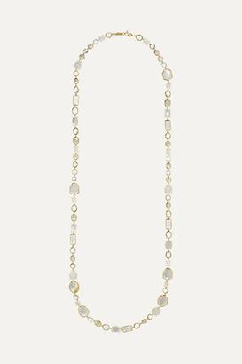 Ippolita Rock Candy Sofia 18-karat Gold, Mother-of-pearl, Quartz And Moonstone Necklace