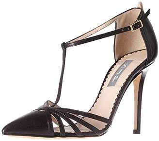 Sarah Jessica Parker Women's Carrie Closed Toe T-Strap Ankle Pump