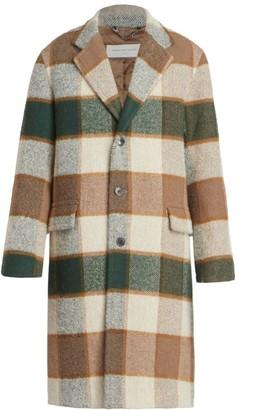 Dries Van Noten Rawly Plaid Wool-Blend Coat