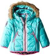 Hatley Nordic Petals Down Filled Ski Jacket (Toddler/Little Kids/Big Kids)
