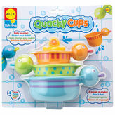 Alex Rub A Dub Quacky Cups 4-pc. Toy Playset