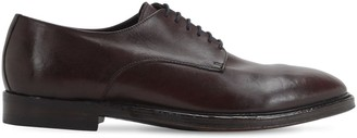 Alberto Fasciani 20mm Leather Lace-Up Shoes
