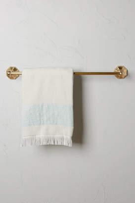 Anthropologie Brass Circlet Towel Bar