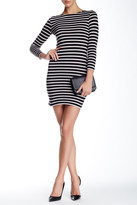 French Connection Striped Bodycon Dress