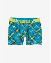Express plaid boxer briefs