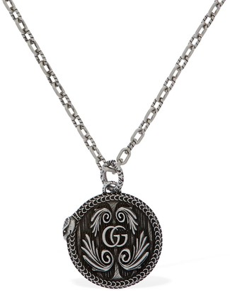 Gucci GG MARMONT PENDANT NECKLACE W/ SNAKE