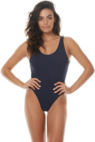Bond Eye Animal House Farrah Rib One Piece Blue
