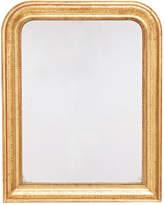 Rejuvenation Louis Philippe Arched Mirror w/ Greek Key Motif