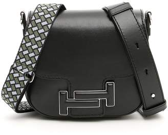 Tod's Double T Foldover Shoulder Bag
