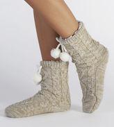 UGG Women's Pom Pom Fleece Lined Crew Sock