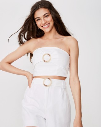 Supre Helly Strapless Top