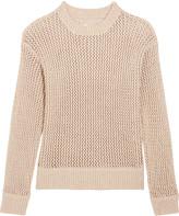 Current/Elliott The Zig Zag open-knit sweater