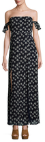 Lucca Couture Off Shoulder Maxi Dress