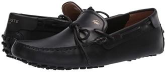 Lacoste Concours Nautic 120 1 U (Black/Gold) Men's Shoes