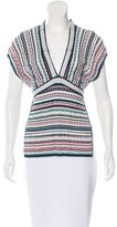 Missoni Striped Sleeveless Top