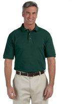 Harriton Men's 6 oz. Ringspun Cotton Piqué Short-Sleeve Polo 5XL