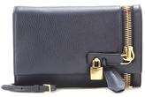 Tom Ford Alix embellished leather clutch