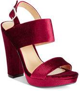 Report Lawren Two-Piece Platform Sandals