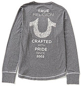True Religion Long-Sleeve Crafted with Pride Graphic Tee