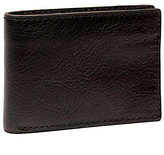 Nash For Men Heritage Leather Double Billfold Wallet