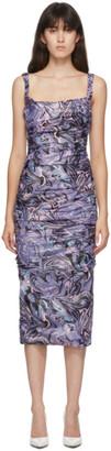 MAISIE WILEN SSENSE Exclusive Purple Lady Miss Dress
