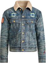 Ralph Lauren Fleece-Lined Denim Jacket