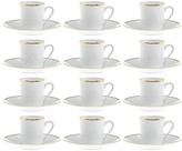 Gianfranco Ferre Profile Set - 12 Piece - Coffee