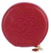 Chanel Caviar Jewelry Case