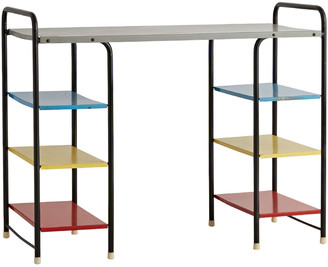 Rejuvenation European Mid-Century Modern Multi-Colored Desk