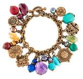 Stephen Dweck Multistone, Pearl & Wood Charm Bracelet