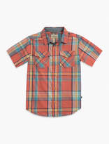 Lucky Brand Short Sleeve Plaid Shirt