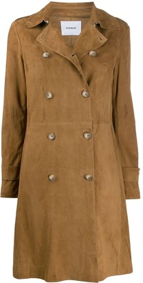 Dondup Fitted Double Breasted Coat