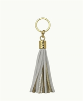 GiGi New York Tassel Key Chain and Gold