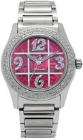 Gallucci Women's WT22029SK/SSB(B)-R Swarovski Crystals Automatic Stainless Steel Watch with Steel Band