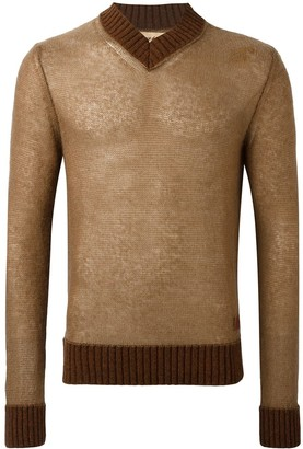Al Duca D'Aosta 1902 V-Neck Sweater