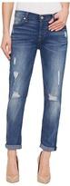 7 For All Mankind Josefina w/ Destroy in Radiant Pier Women's Jeans