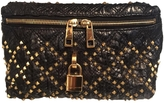 Marc Jacobs Black Exotic leathers Clutch bag