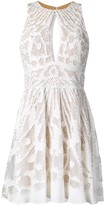 ZUHAIR MURAD Lace Embroidered Mini Dress