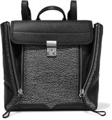 3.1 Phillip Lim Pashli paneled textured-leather backpack