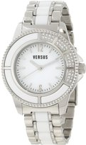 Versus By Versace Women's 3C64400000 Tokyo Stainless Steel Dial Crystal Bracelet Watch