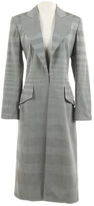 Christian Dior Grey Viscose Coats