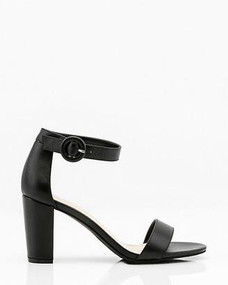Le Château Open Toe Block Heel Sandal